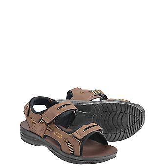 Chums Mens Brown Touch Fasten Sandal