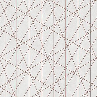 Laser Glitter Geometric Wallpaper Debon