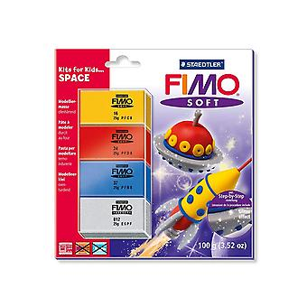 FIMO 100 g Space Soft Hobby Kits, Multi-Colour