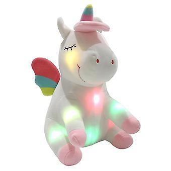 Twinkling unicorn with wings-stuffed animal