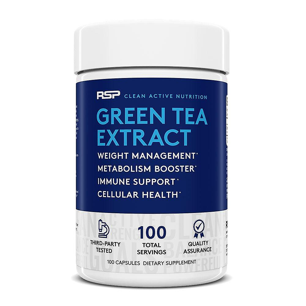 Rsp green tea extract - weight loss supplement for men & women, antioxidant & metabolism support, cellular health, stimulant free energy, 100 capsules