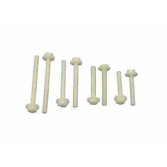 Jamara 266160 M6 X 60inch 100 Pieces Screw with Nylon Washer