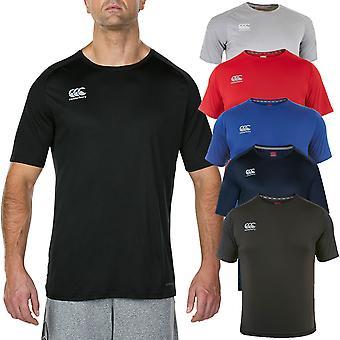 Canterbury Herren Core Vapodri Superlight Poly Logo T-Shirt