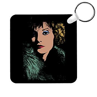 TV Times Singer And Model Sandy Shaw Key Ring