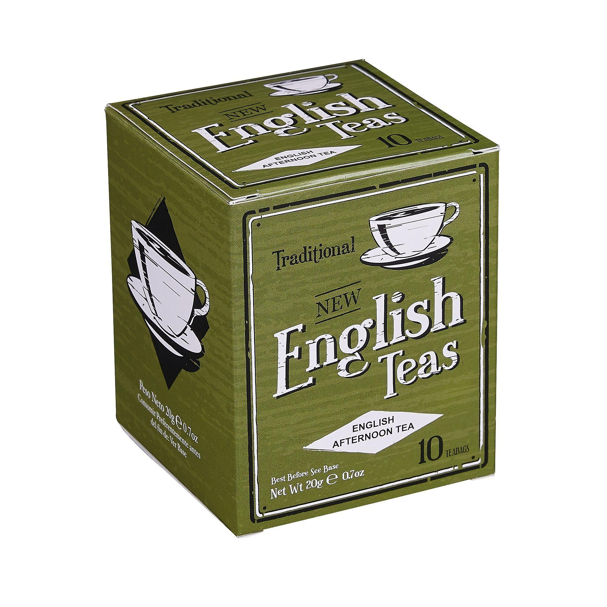 Vintage english afternoon tea 10 teabag carton