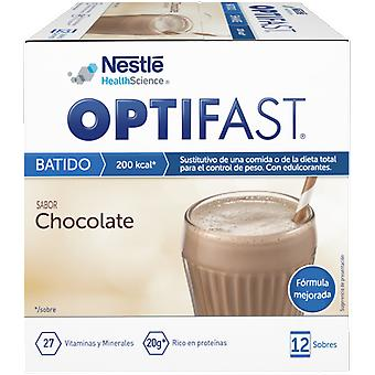 Optifast Chocolate Shake 12 Envelopes x 53 gr