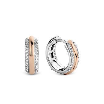 Ohrringe Ti Sento schimmernde Lichter 7786ZR - Ohrringe Ringe Silber gold gold rose Zirkonium oxide