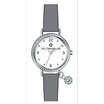 Watch Lulu Castanet 38872 - leather grey woman girl