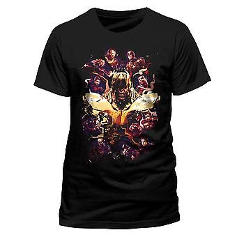 Avengers end spil film plakat Iron Man Thor officiel T-shirt