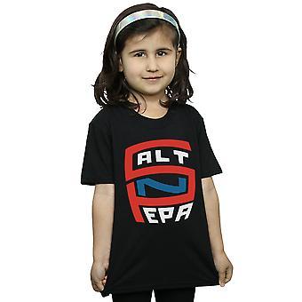 Salt N Pepa meninas grande logotipo t-shirt