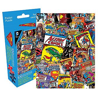 Superman 100pc Adult Pocket Puzzle