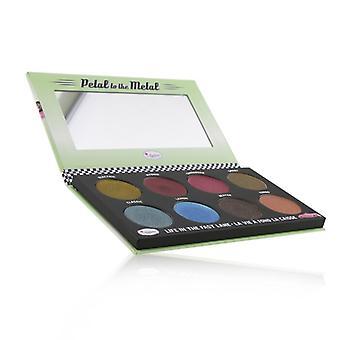 Thebalm Petal To The Metal Va Va Vroom Cream Eyeshadow Palette (8x Eyeshadow) - # Shift Into Overdrive - 10.5g/0.37oz