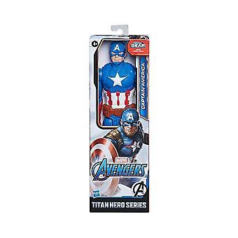 Marvel Avengers Captain America Endgame Titan Hero 12 Inch Actiefiguur