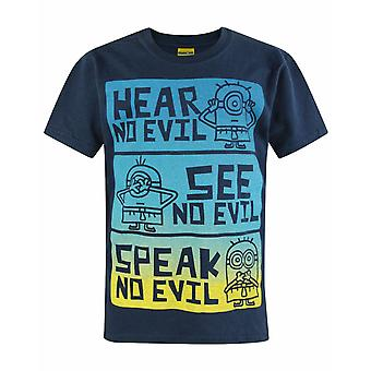 Minions No Evil Kid's T-Shirt