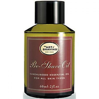 Aceite antes de afeitaren en Santal Wood - Pieles S ches