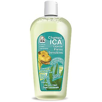 Ica Champú Piel Sensible 400 Aloe Vera (Perros , Higiene y peluquería , Champús)