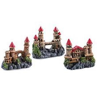 Classic For Pets Mini Castles Assort  6pcs (Fish , Decoration , Ornaments)