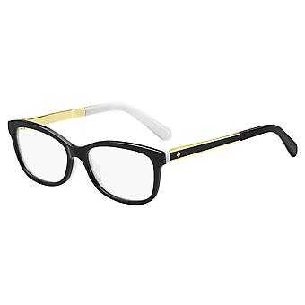 Kate Spade Angelisa S0T Black-White Glasses
