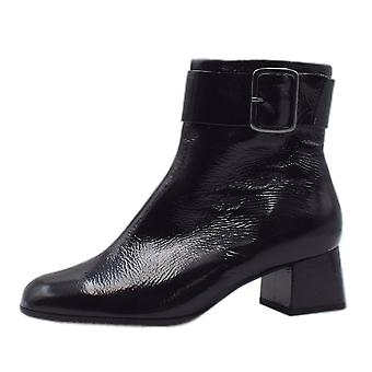 Högl 8-10 4725 Muse Stylish Ankle Boots In Black Crackle