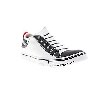 Diesel S-Diesel Imaginee Low Slip On Mens White Canvas Sneakers Shoes