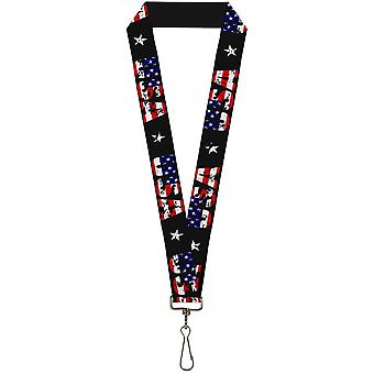 USA Patriotic Lanyard
