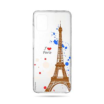 Hull For Samsung Galaxy A71 Flexible Paris
