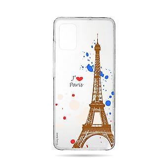 Runko Samsung Galaxy A71 Joustava Pariisi