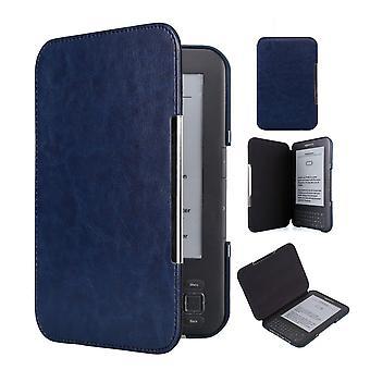 Kindle Keyboard (3e Gen) case - PU leather - dark blue