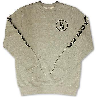 Crooks & Castles C and C Sweatshirt Heather Grey