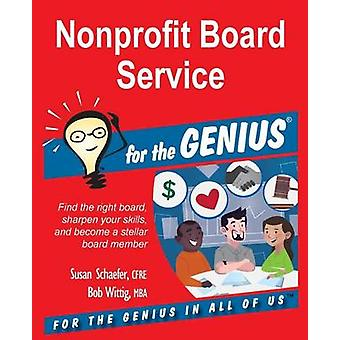 Nonprofit Board Service for the GENIUS by Schaefer & Susan