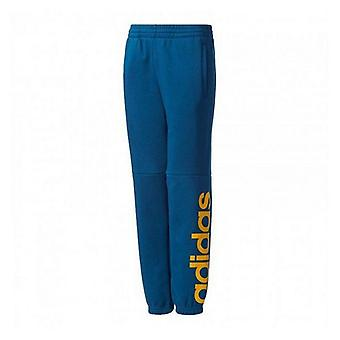 Children's Tracksuit Bottoms Adidas YB LIN/10-12 Years