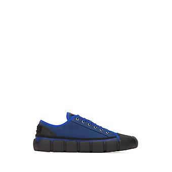 Moncler Genius Ezcr003004 Men's Blue Fabric Sneakers