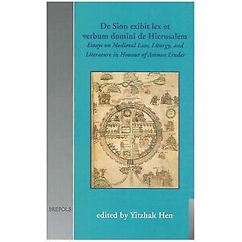 De Sion Exibit Lex Et Verbum Domini De Hierusalem by Yitzhak Hen - 97
