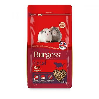 Burgess Excel Rat Food Nuggets