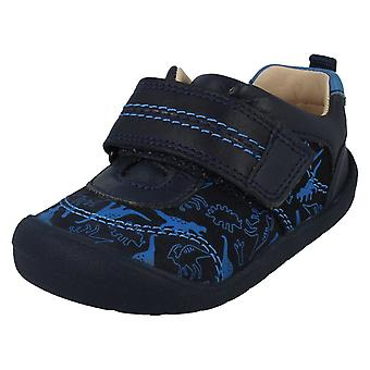 Boys Startrite Casual Hook & Loop Shoes Footprint