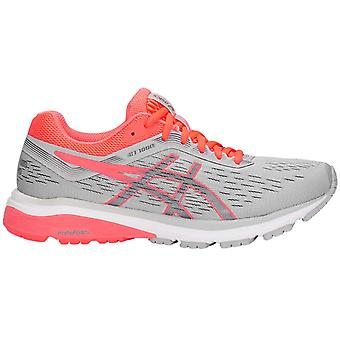 Asics GT-1000 7 Womens Ladies Running Exercise Fitness Trainer Shoe Grey/Pink