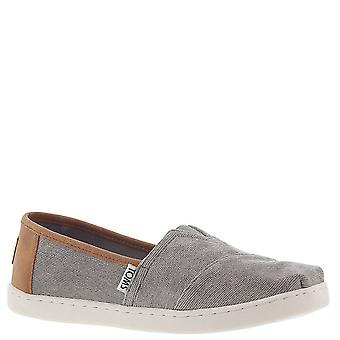 Kids Toms Girls Classics Low Top Slip On Walking Shoes