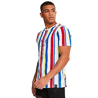 Pre London | Primary Striped Half Sleeve T-shirt - Multi Colour