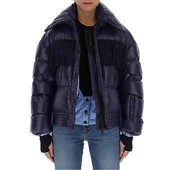 Moncler Grenoble 4531385c0349609 Women's Blue Nylon Down Jacket