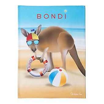Bondi Beach Tea Towel 50x70cm Multi