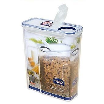 Lock & Lock téglalap élelmiszer tároló konténer flip Top fedél