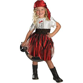 Miss Pirate Toddler Costume