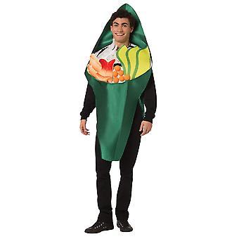 Sushi roll vuxen kostym