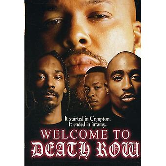 Welcome to Death Row [DVD] USA import