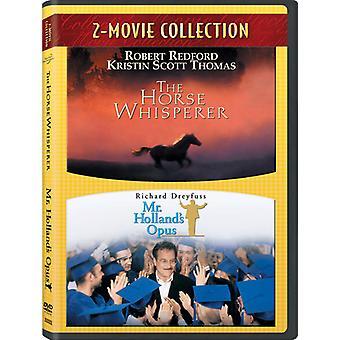 Horse Whisperer/Mr. Holland's [DVD] USA import