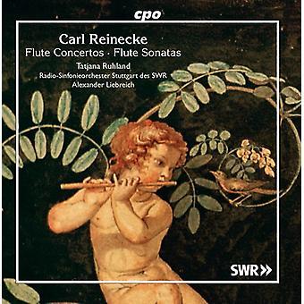 Reinecke / Ruhland / Liebreich - Flute Concertos / Flute Sonatas [CD] USA import