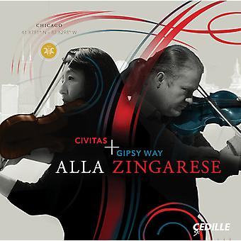 Brahms / Civitas Ensemble - Alla Zingarese [CD] USA import