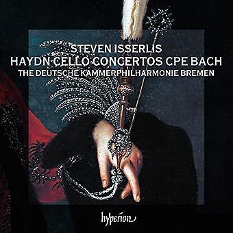Haydn / Bach, C.P.E. / Isserlis, Steven - Cello Concertos [CD] USA import