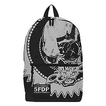 Five Finger Death Punch Backpack Skull Knuckles Band Logo new Official