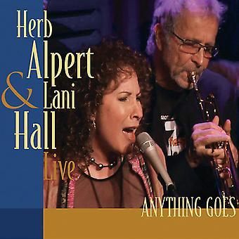 Alpert, Herb / Hall, Lani - Anything Goes (Live) [CD] USA import
